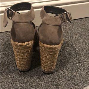 Stuart Weitzman Shoes - Suede Stuart weitzman espadrilles